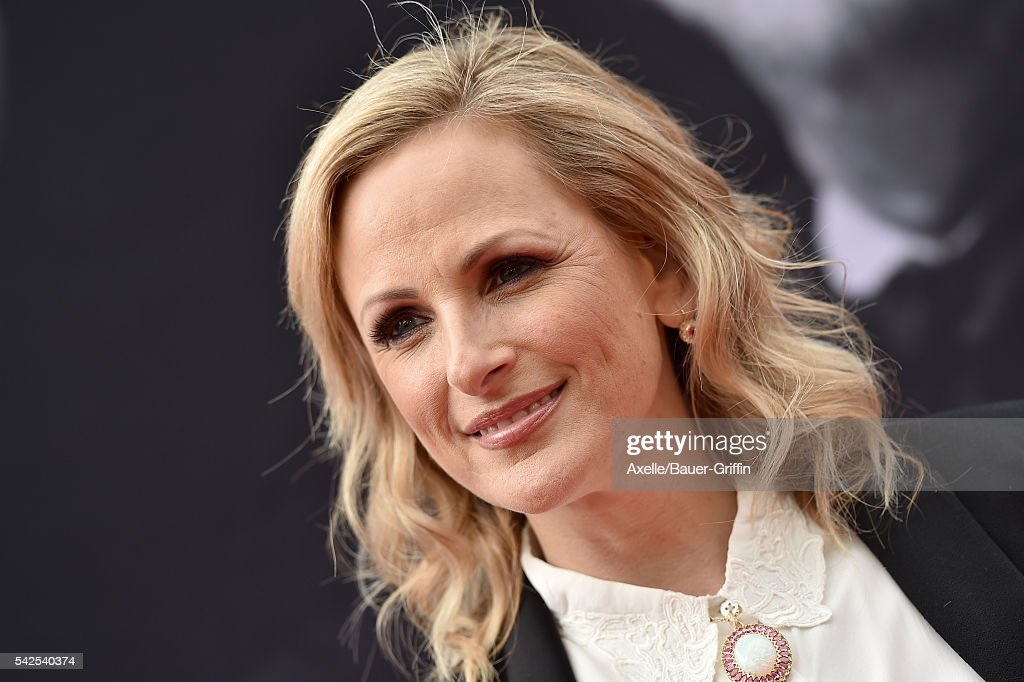 Actress Marlee Matlin arrives at the 44th AFI Life Achievement Awards Gala Tribute to John Williams at Dolby Theatre on June 9, 2016 in Hollywood, California.