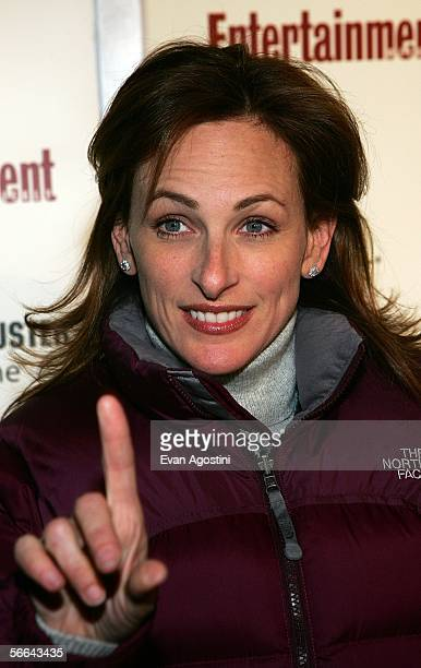 Actress Marlee Matlin arrives to the Entertainment Weekly Party at the Sundance Film Festival held at The Shop on January 21 2006 in Park City Utah