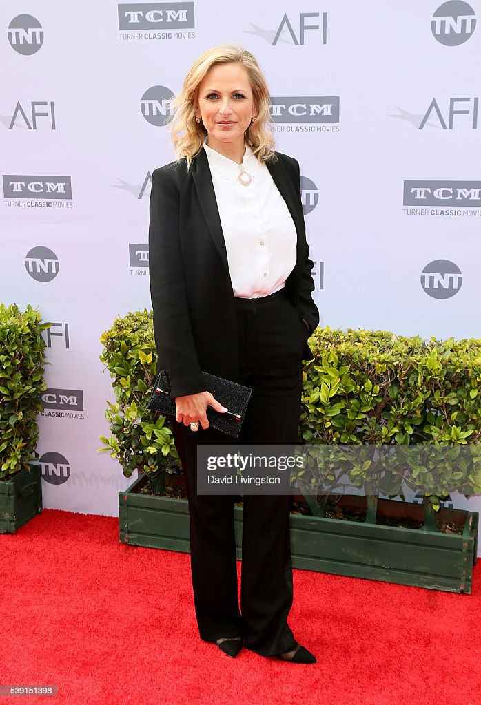 Actress Marlee Matlin attends American Film Institute's 44th Life Achievement Award Gala Tribute to John Williams at Dolby Theatre on June 9, 2016 in Hollywood, California.