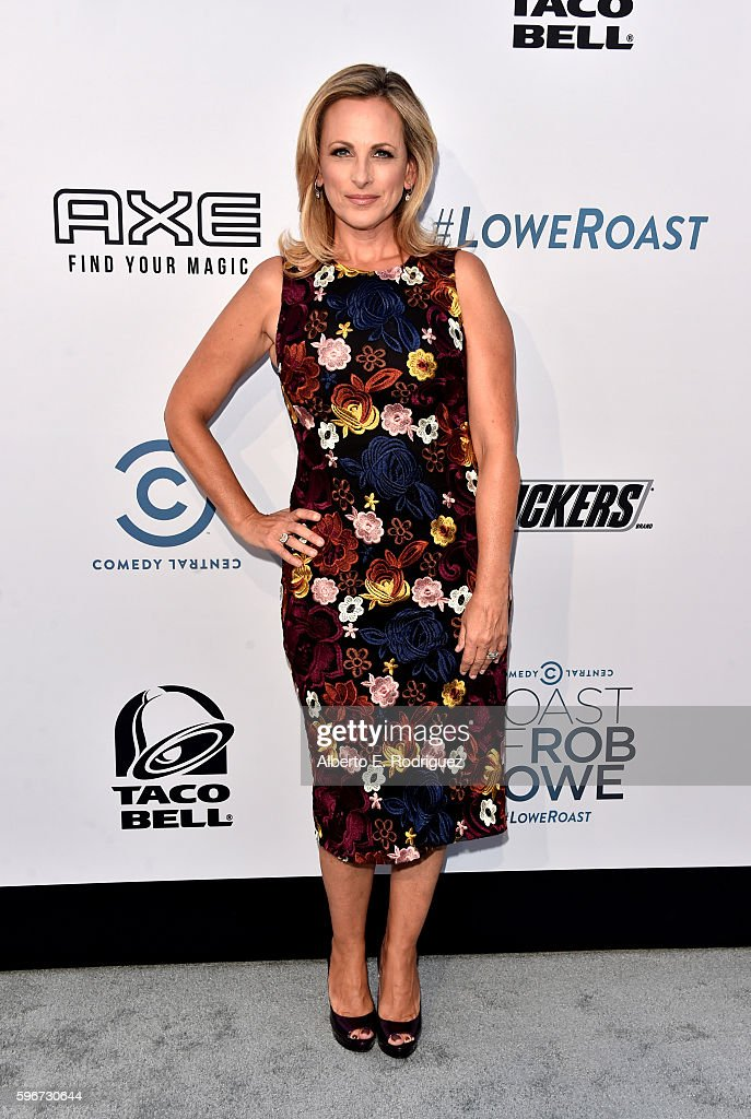 Actress Marlee Matlin attends The Comedy Central Roast of Rob Lowe at Sony Studios on August 27, 2016 in Los Angeles, California.