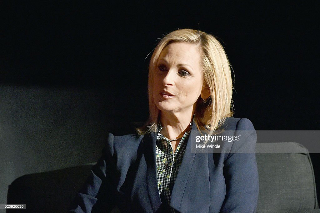 Actress Marlee Matlin speaks onstag during 'Children of a Lesser God' screening during day 4 of the TCM Classic Film Festival 2016 on May 1, 2016 in Los Angeles, California. 25826_008