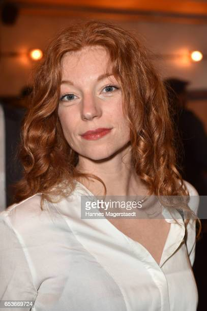 Actress Marleen Lohse during the NdF after work press cocktail at Parkcafe on March 15 2017 in Munich Germany