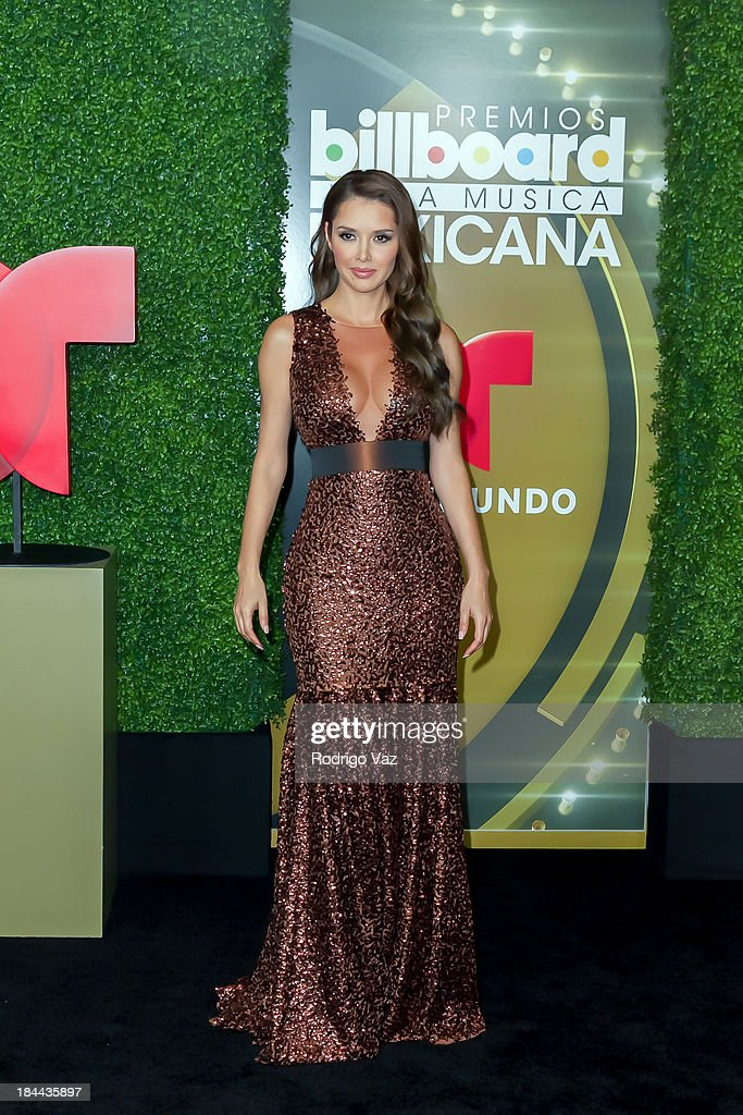 Actress <a gi-track='captionPersonalityLinkClicked' href=/galleries/search?phrase=Marlene+Favela&family=editorial&specificpeople=750960 ng-click='$event.stopPropagation()'>Marlene Favela</a> attends the 2013 Billboard Mexican Music Awards Press Room at Dolby Theatre on October 9, 2013 in Hollywood, California.