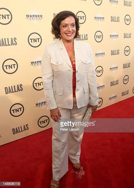 Actress Marlene Forte attends the gala premiere screening of 'Dallas' hosted by TNT and Warner Horizon at the Winspear Opera House on May 31 2012 in...