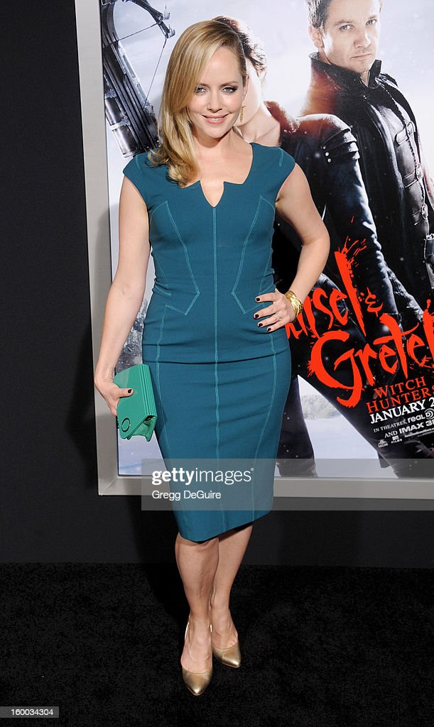 Actress Marley Shelton arrives at the 'Hansel & Gretel: Witch Hunters' Los Angeles premiere at TCL Chinese Theatre on January 24, 2013 in Hollywood, California.