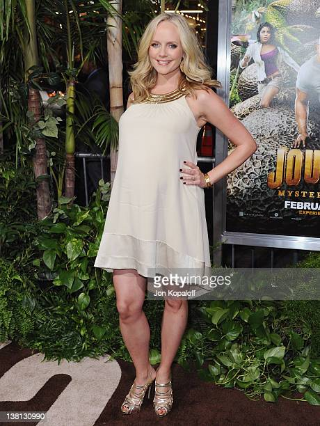Actress Marley Shelton arrives at the Los Angeles Premiere 'Journey 2 The Mysterious Island' at Grauman's Chinese Theatre on February 2 2012 in...
