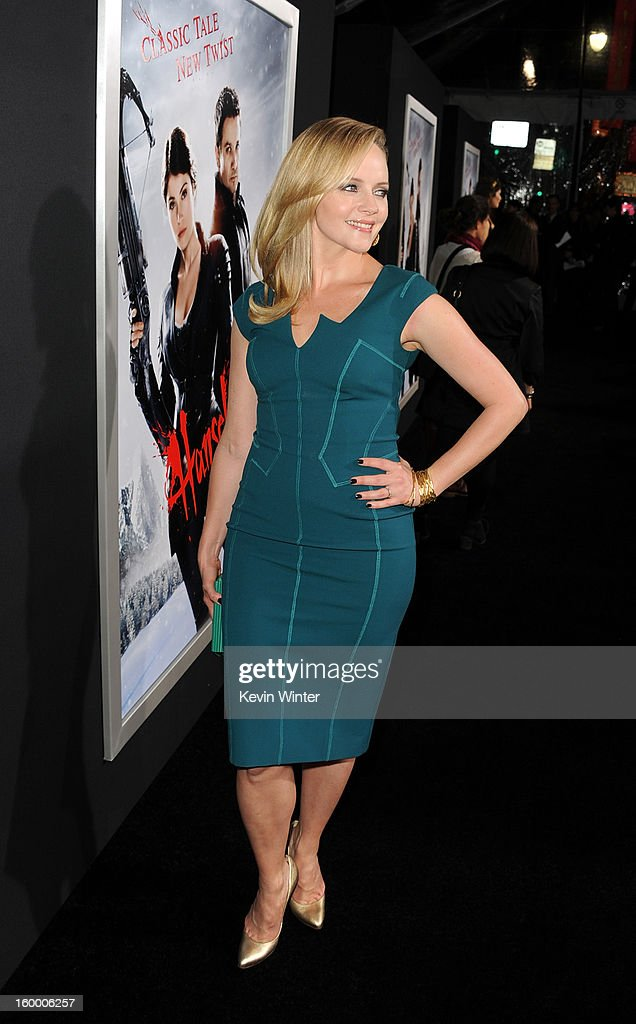 Actress Marley Shelton arrives for the Los Angeles premiere of Paramount Pictures' 'Hansel And Gretel Witch Hunters' at TCL Chinese Theatre on January 24, 2013 in Hollywood, California.