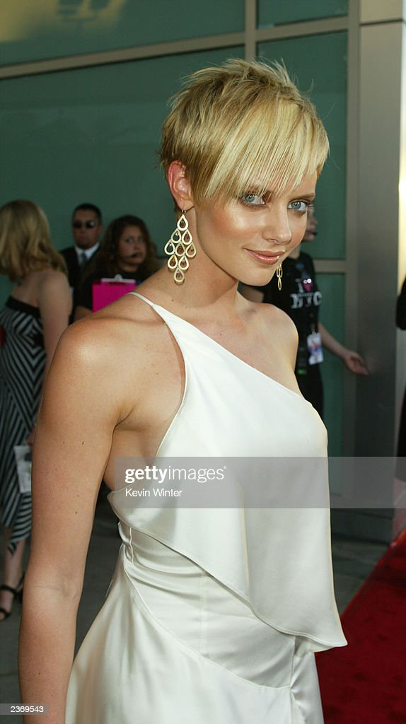 Actress Marley Shelton attends the MGM Pictures Los Angeles premiere of the film 'Uptown Girls' at the ArcLight Cinerama Dome August 4, 2003 in Hollywood, California.