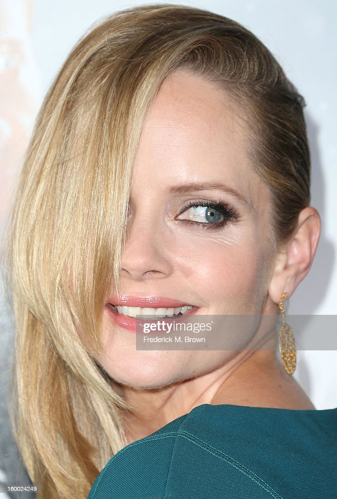 Actress Marley Shelton attends the Premiere of Paramount Pictures' 'Hansel And Gretel Witch Hunters' at the TCL Chinese Theatre on January 24, 2013 in Hollywood, California.