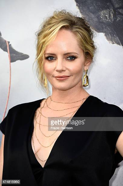 Actress Marley Shelton attends the premiere of Warner Bros Pictures' 'San Andreas' at the TCL Chinese Theatre on May 26 2015 in Hollywood California