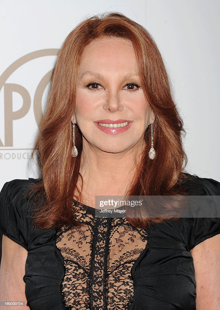 Actress Marlo Thomas arrives at the 24th Annual Producers Guild Awards at The Beverly Hilton Hotel on January 26, 2013 in Beverly Hills, California.