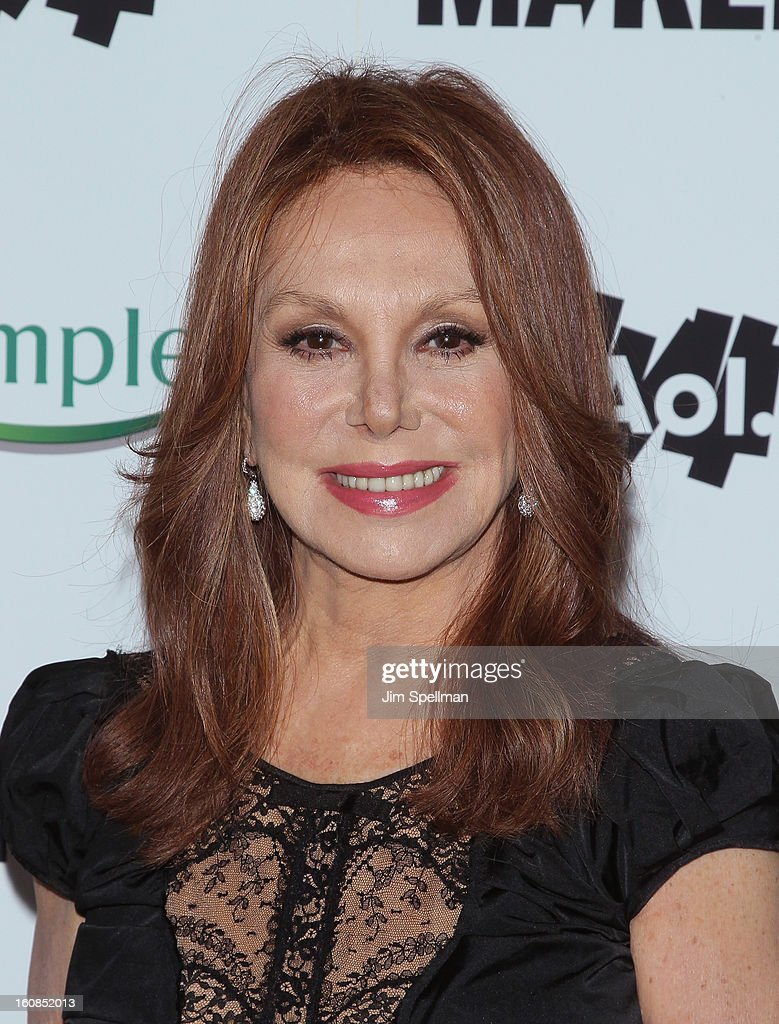 Actress Marlo Thomas attends the 'Makers: Women Who Make America' New York Premiere at Alice Tully Hall at Lincoln Center on February 6, 2013 in New York City.