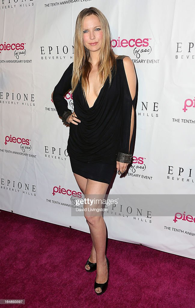 Actress Marni Lustig attends the 'Pieces (of Ass)' opening night Los Angeles performance at The Fonda Theatre on March 28, 2013 in Los Angeles, California.