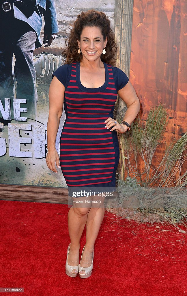 Actress Marrisa Winokur arrives at the premiere of Walt Disney Pictures' 'The Lone Ranger' at Disney California Adventure Park on June 22, 2013 in Anaheim, California.