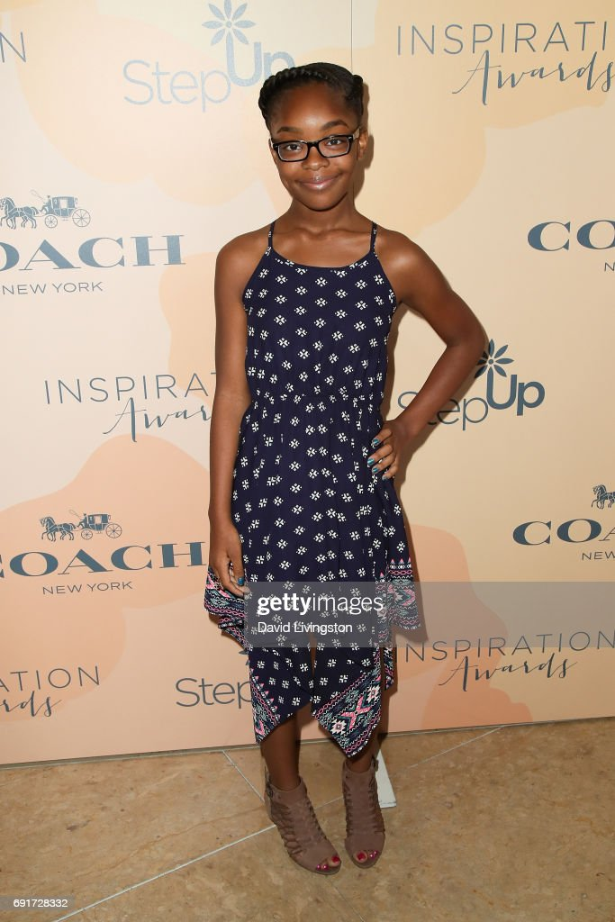 Actress Marsai Martin attends the 14th Annual Inspiration Awards at The Beverly Hilton Hotel on June 2, 2017 in Beverly Hills, California.