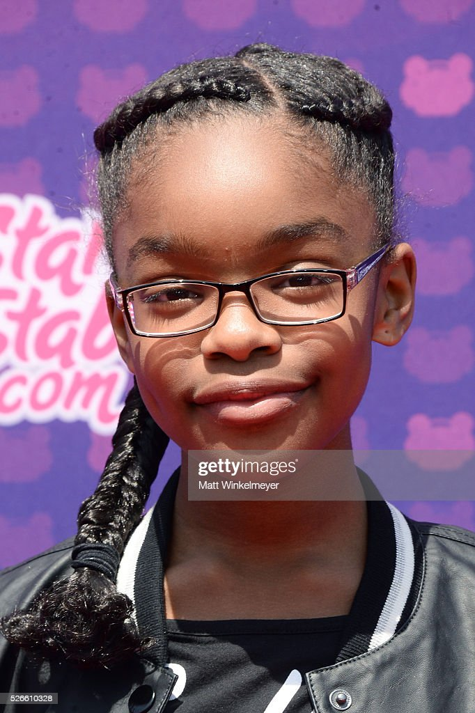 Actress <a gi-track='captionPersonalityLinkClicked' href=/galleries/search?phrase=Marsai+Martin&family=editorial&specificpeople=12819653 ng-click='$event.stopPropagation()'>Marsai Martin</a> attends the 2016 Radio Disney Music Awards at Microsoft Theater on April 30, 2016 in Los Angeles, California.