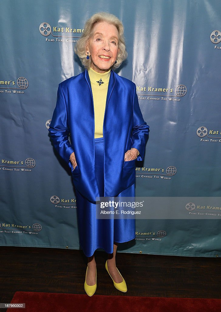 Actress Marsha Hunt attends the 5th anniversary of 'Kat Kramer's Films That Changed The World' featuring the North American premiere of 'Fallout' at...