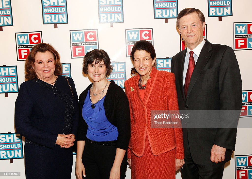 Actress Marsha Mason, activist Sandra Fluke, senator Olympia Snowe, and former Maine Governor John McKernan attend the 32nd Annual Women's Campaign Fund Parties of Your Choice Gala at Christie's on April 2, 2012 in New York City.
