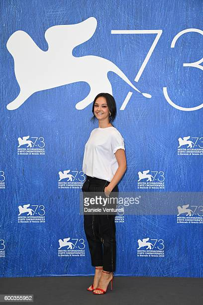 Actress Marta Gastini attends a photocall for 'Questi Giorni' during the 73rd Venice Film Festival at Palazzo del Casino on September 8 2016 in...