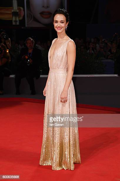 Actress Marta Gastini attends the premiere of 'Questi Giorni' during the 73rd Venice Film Festival at Sala Grande on September 8 2016 in Venice Italy