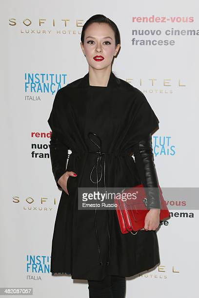 Actress Marta Gastini attends the 'Rendez Vous' French Film Festival photocall at Hotel Sofitel on April 2 2014 in Rome Italy