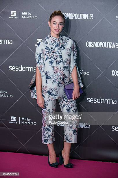 Actress Marta Hazas attends VIII Cosmopolitan Fun Fearless Female Awards at Ritz hotel on October 27 2015 in Madrid Spain