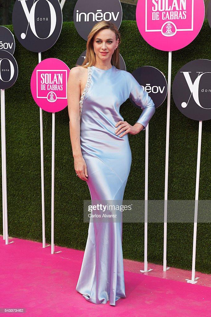 Actress Marta Hazas attends 'Yo Dona' International awards on June 27, 2016 in Madrid, Spain.
