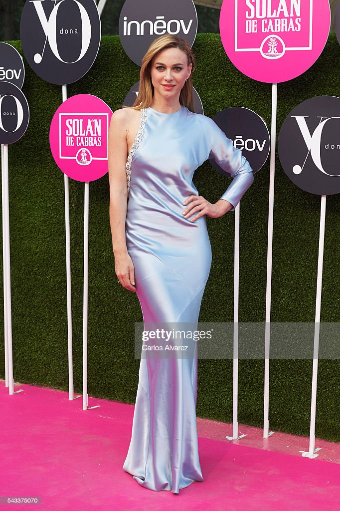 Actress <a gi-track='captionPersonalityLinkClicked' href=/galleries/search?phrase=Marta+Hazas&family=editorial&specificpeople=5133615 ng-click='$event.stopPropagation()'>Marta Hazas</a> attends 'Yo Dona' International awards on June 27, 2016 in Madrid, Spain.