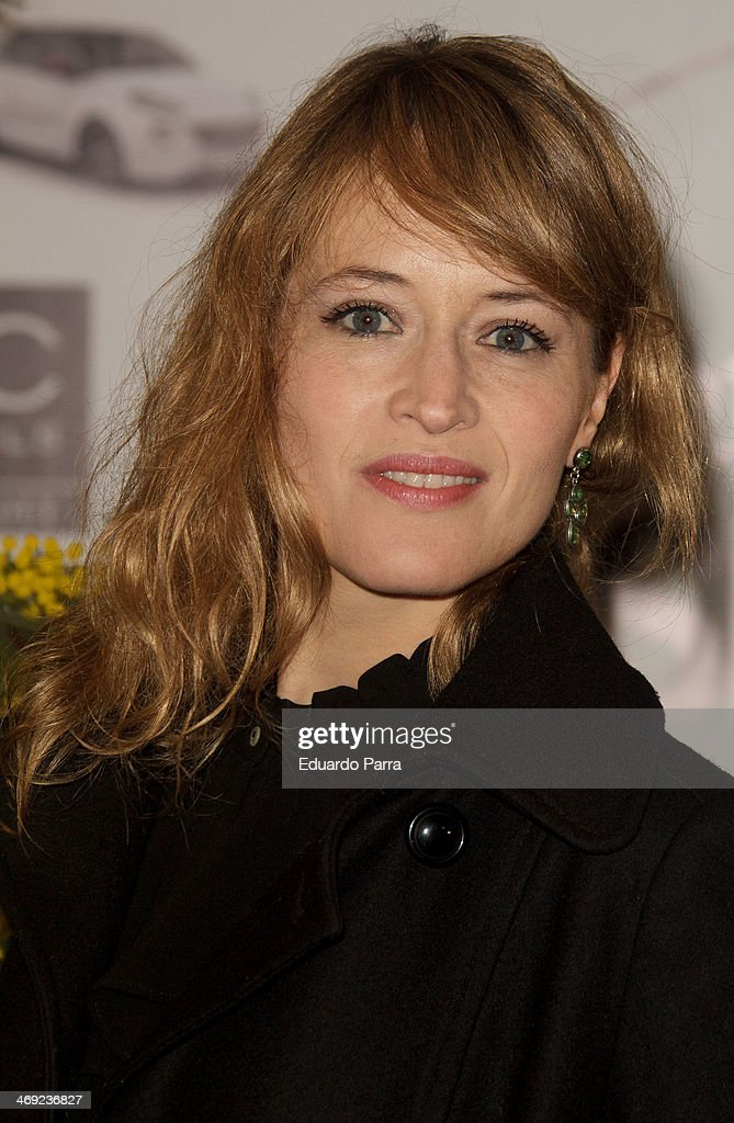 Actress <a gi-track='captionPersonalityLinkClicked' href=/galleries/search?phrase=Marta+Larralde&family=editorial&specificpeople=6868793 ng-click='$event.stopPropagation()'>Marta Larralde</a> attends Jorge Vazquez Pret a Porter collection presentation photocall at Royal Botanic Garden on February 13, 2014 in Madrid, Spain.