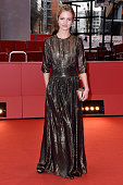 Actress Marta Nieradkiewicz attends the 'United States of Love' premiere during the 66th Berlinale International Film Festival Berlin at Berlinale...