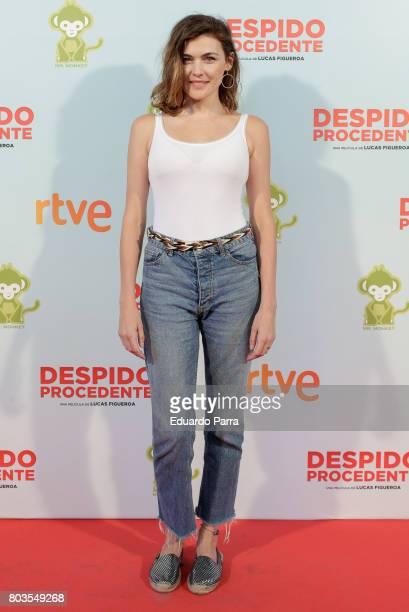 Actress Marta Nieto attends the 'Despido procedente' photocall at Callao cinema on June 29 2017 in Madrid Spain