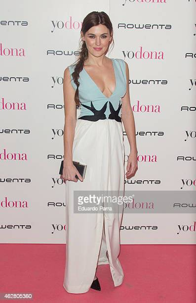 Actress Marta Nieto attends 'Yo Dona' party photocall at Shoko disco on February 5 2015 in Madrid Spain