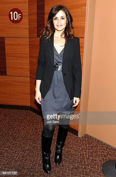 Actress Marta Torne attends 'The Boarding School' Special Screening at Shinjuku Wald9 Cinema on December 8 2009 in Tokyo Japan
