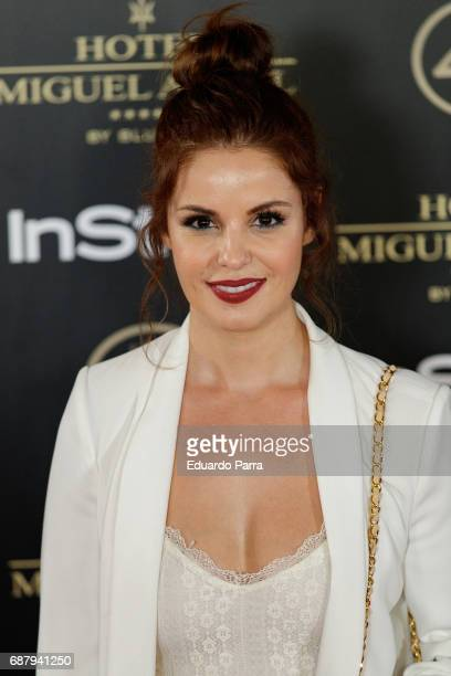 Actress Marta Torne attends the 'El Jardin del Miguel Angel' party photocall at Miguel Angel hotel on May 24 2017 in Madrid Spain