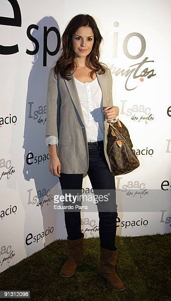 Actress Marta Torne attends the Espacio Dos Puntos opening at Atocha on October 1 2009 in Madrid Spain