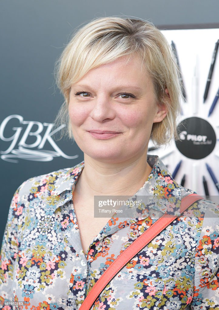 Actress Martha Pimpton attends the GBK & Pilot Pen Pre-Golden Globe Gift Lounge on January 11, 2014 in Beverly Hills, California.