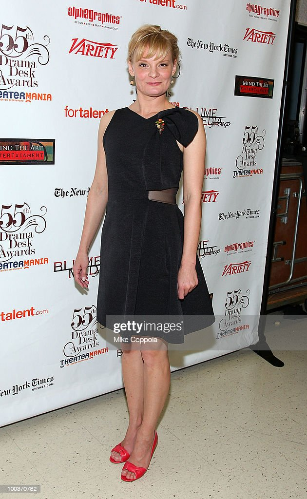 Actress Martha Plimpton arrives at the press room for the 55th Annual Drama Desk Awards at the FH LaGuardia Concert Hall at Lincoln Center on May 23, 2010 in New York City.