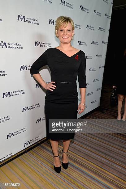 Actress Martha Plimpton attends International Medical Corps Annual Awards Celebration at Regent Beverly Wilshire Hotel on November 8 2013 in Beverly...
