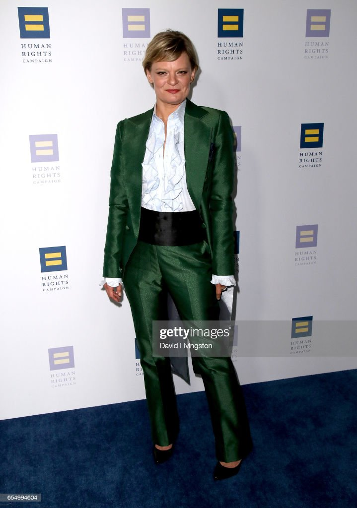 Actress Martha Plimpton attends the Human Rights Campaign's 2017 Los Angeles Gala Dinner at JW Marriott Los Angeles at L.A. LIVE on March 18, 2017 in Los Angeles, California.