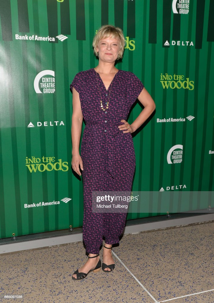 Actress Martha Plimpton attends the opening night of Fiasco Theater's Production of 'Into the Woods' at Ahmanson Theatre on April 5, 2017 in Los Angeles, California.