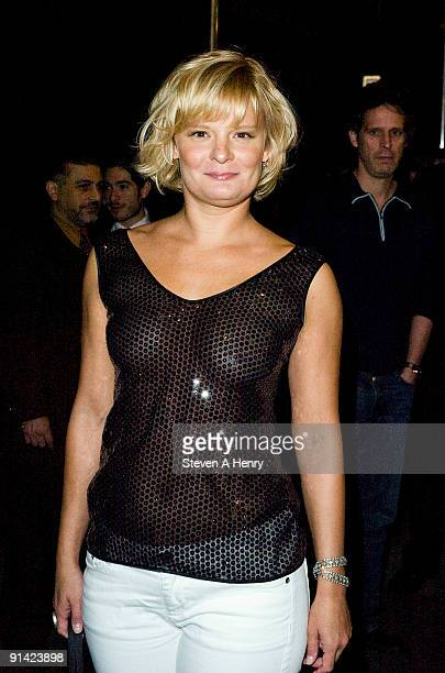 Actress Martha Plimpton attends the 'Wishful Drinking' Broadway opening night at Studio 54 on October 4 2009 in New York City