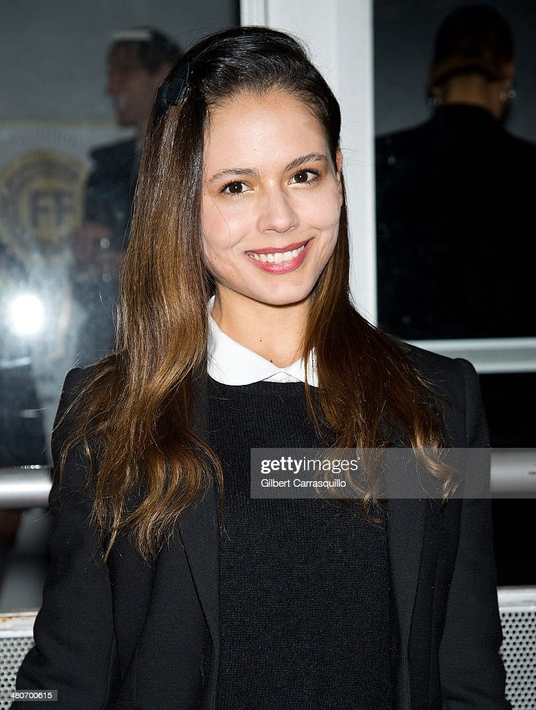 Actress <a gi-track='captionPersonalityLinkClicked' href=/galleries/search?phrase=Martina+Garcia&family=editorial&specificpeople=5329931 ng-click='$event.stopPropagation()'>Martina Garcia</a> attends the opening night of the 2nd annual Colombian International Film Festival at Tribeca Cinemas on March 26, 2014 in New York City.