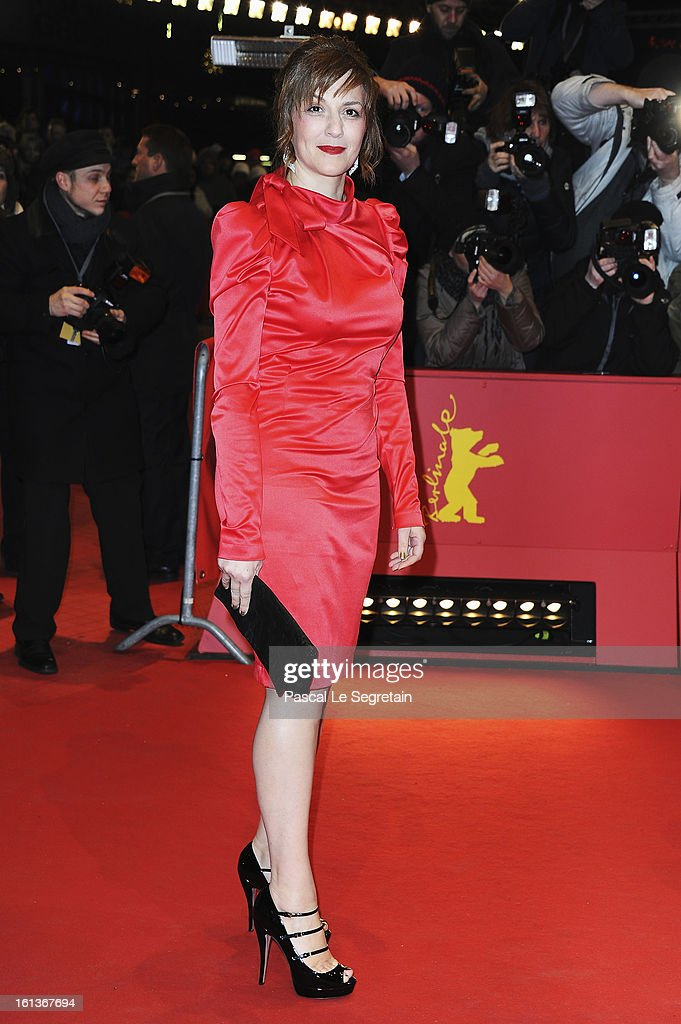 Actress Martina Gedeck attends 'The Nun' Premiere during the 63rd Berlinale International Film Festival at Berlinale Palast on February 10, 2013 in Berlin, Germany.