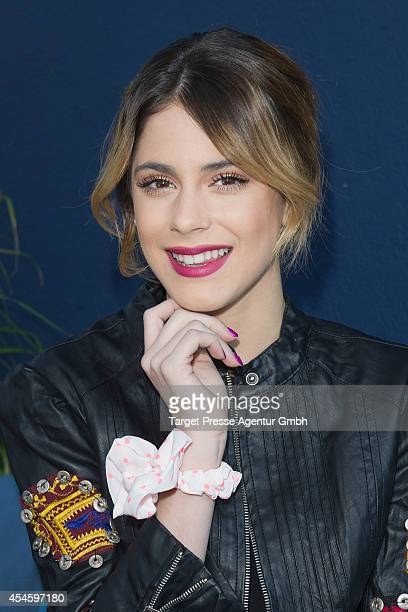 Actress Martina Stoessel attends the Violetta Photo Call at Hotel Amano on September 4 2014 in Berlin Germany