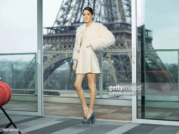 Actress Martina Stoessel poses on february 16 2015 in Paris France