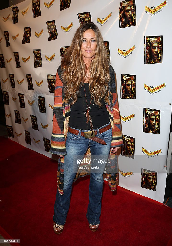 Actress Martine Battle attends the Premiere of '6 Degrees Of Hell' at Laemmle's Music Hall 3 on November 20, 2012 in Beverly Hills, California.