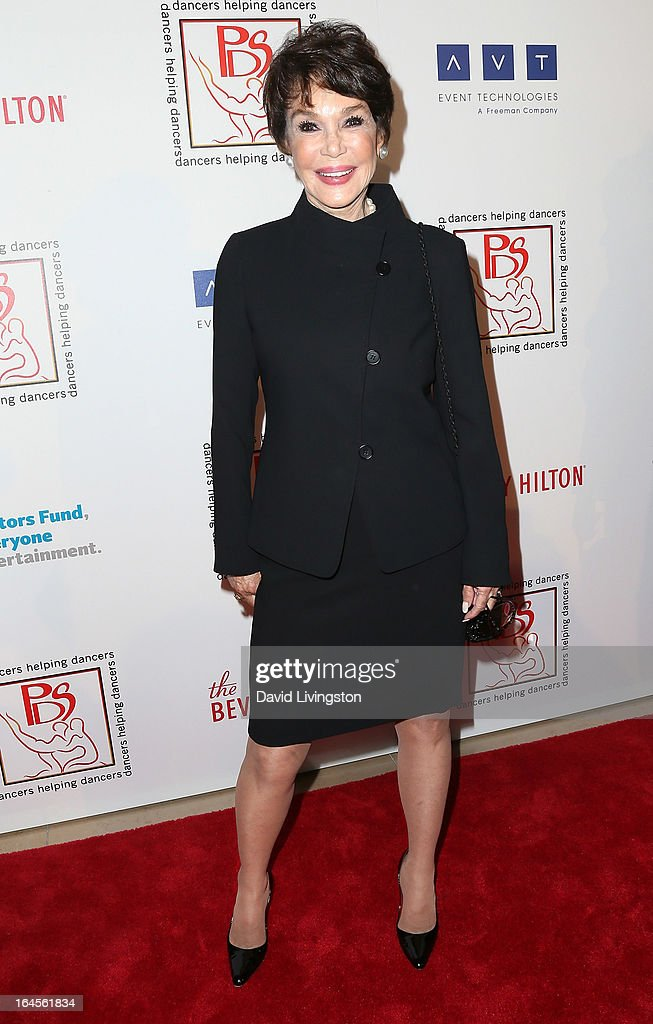 Actress Mary Ann Mobley attends the Professional Dancers Society's Gypsy Awards Luncheon at The Beverly Hilton Hotel on March 24, 2013 in Beverly Hills, California.