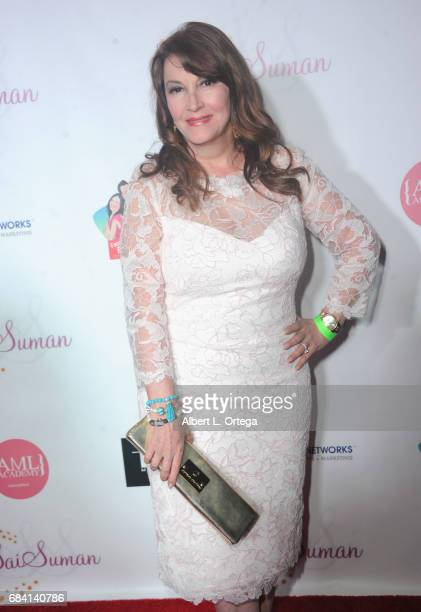 Actress Mary Apick at Sai Suman's Official Hollywood Runway Fashion Show held at Sofitel Hotel on April 11 2017 in Los Angeles California