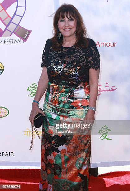 Actress Mary Apick attends the Love International Film Festival closing ceremony at The Wilshire Ebell Theatre on July 16 2016 in Los Angeles...