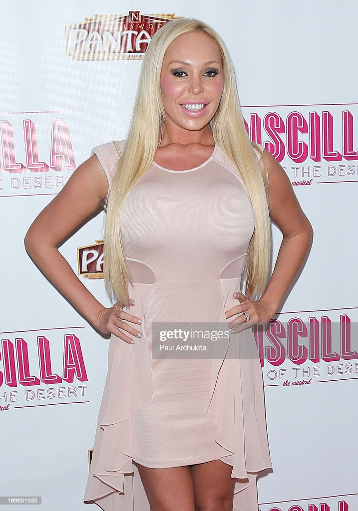 Actress Mary Carey attends the 'Priscilla Queen Of The Desert' theatre premiere at the Pantages Theatre on May 29, 2013 in Hollywood, California.